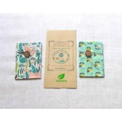 VEGAN Snack Set Eco Wraps...